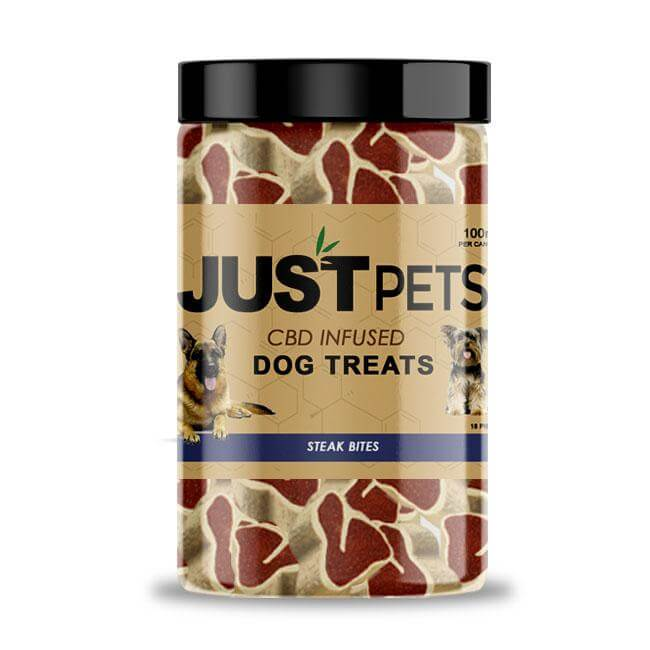 Buy CBD Oil For Dogs - Steak Bites