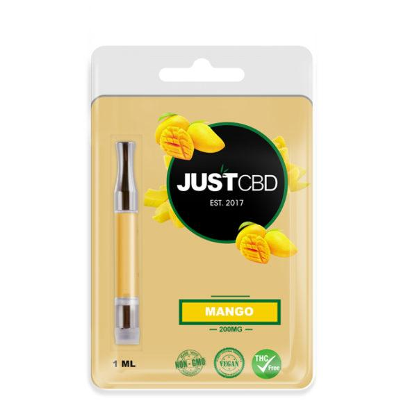 cbd vape oil cartridge mango